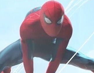 Alucina con el animatron de Spider-Man del Campus Vengadores de Disneyland