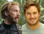 Chris Hemsworth celebra el 40 cumpleaños de Chris Evans con una foto de Chris Pratt en 'Thor: Love and Thunder'