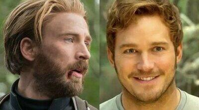 Chris Hemsworth celebra el 40 cumpleaños de Chris Evans con Chris Pratt en 'Thor: Love and Thunder'