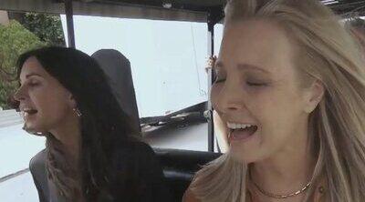Los seis actores de 'Friends' cantan 'I'll Be There for You' en el Carpool Karaoke