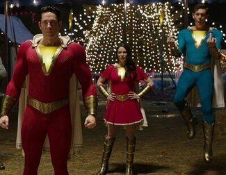 Primer vistazo oficial a los trajes de 'Shazam!Furyof theGods'