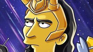 'Los Simpson' y Marvel se cruzarán en un corto para Disney+ con Tom Hiddleston