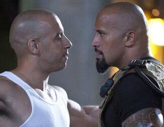 """Dwayne Johnson asegura que no volverá a 'Rápidos y furiosos' y responde a la """"mano dura"""" de Vin Diesel"""