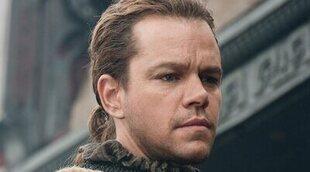Matt Damon supo que 'La gran muralla' iba a ser un desastre ya desde el rodaje