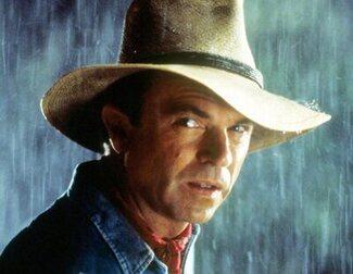 Sam Neill analiza de manera hilarante merchandising de 'Jurassic Park'