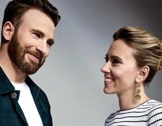 Scarlett Johansson y Chris Evans se reunirán en una película de acción romántica