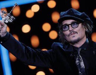 Johnny Depp recibe el Premio Donostia y critica la cultura de la cancelación