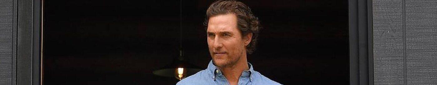 Matthew McConaughey sería elegido Gobernador de Texas según las encuestas