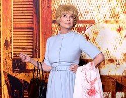 Jamie Lee Curtis llegó disfrazada de su madre a la premiere de 'Halloween Kills'