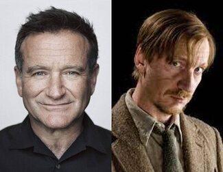 Robin Williams intentó ser Lupin en la saga 'Harry Potter'