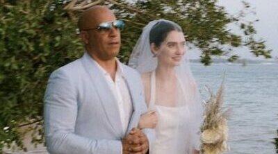 Vin Diesel llevó a la hija de Paul Walker hasta el altar en su boda