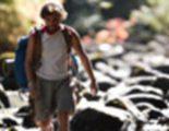 Cartel en español de 'Hacia rutas salvajes'
