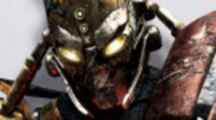 Pósters de los robots luchadores de 'Acero puro', con Hugh Jackman