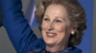 Meryl Streep acaricia el Oscar en el tráiler de 'La dama de hierro'