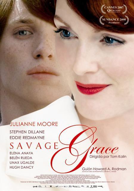 Póster en castellano de 'Savage Grace'
