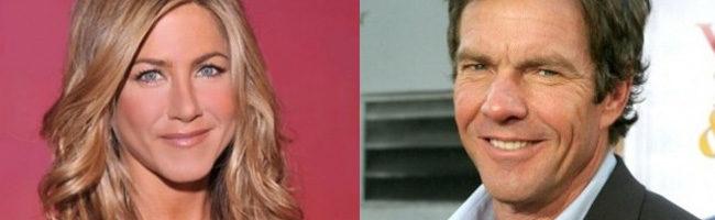 Jennifer Aniston y Denis Quaid
