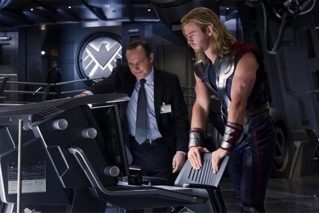 Thor en la nueva imagen de Los Vengadores