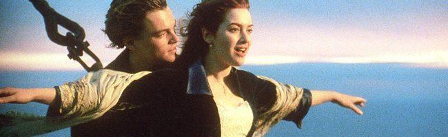 Leonardo DiCaprio y Kate Winslet protagonizan Titanic