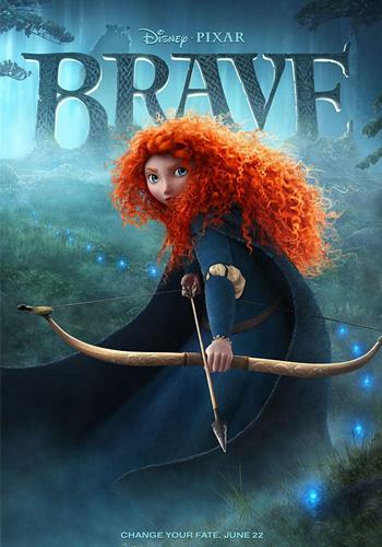 Póster de Brave, lo nuevo de Pixar