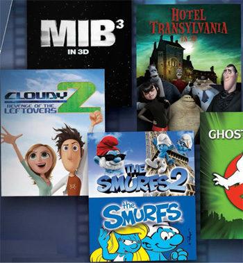 Nuevos carteles de Sony Pictures