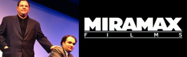 Los Weinstein y el logo de Miramax
