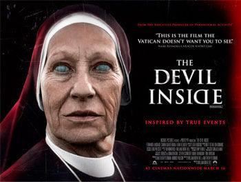 Cartel de Devil Inside