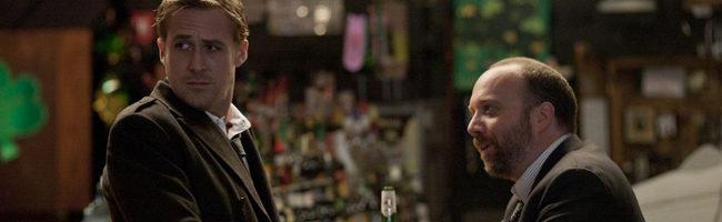 Ryan Gosling y Paul Giamatti en 'Los idus de marzo'