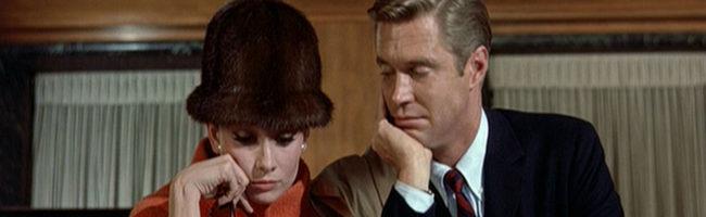 Audrey Hepburn y George Peppard en 'Desayuno con diamantes'