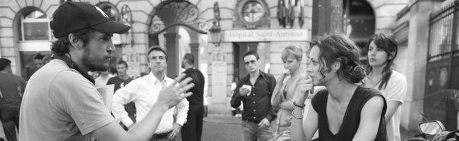 Guillaume Canet y Marion Cotillard en el rodaje de Pequeñas mentiras sin importancia