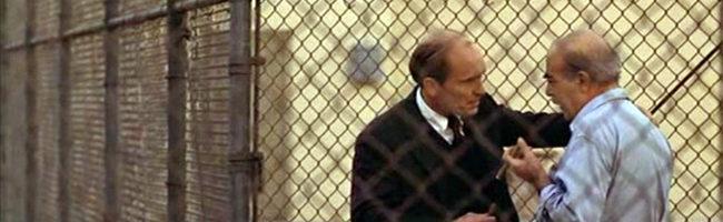 Robert Duvall y Michael V. Gazzo en 'El Padrino: Parte II'