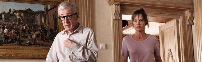 Woody Allen y Judy Davis en To Rome with love