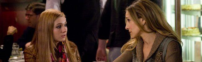 Abigail Breslin y Sarah Jessica Parker en 'Noche de fin de año'