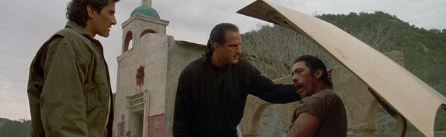 Steven Seagal y Danny Trejo en 'Señalado por la muerte'