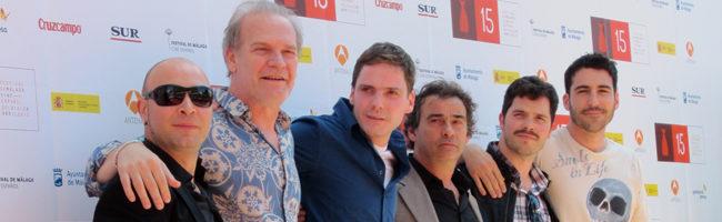 El reparto de 'The Pelayos' en el Festival de Málaga 2012