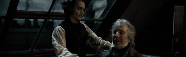 Depp y Rickman