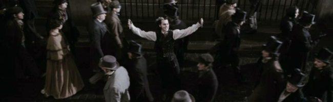 Depp como Sweeney Todd