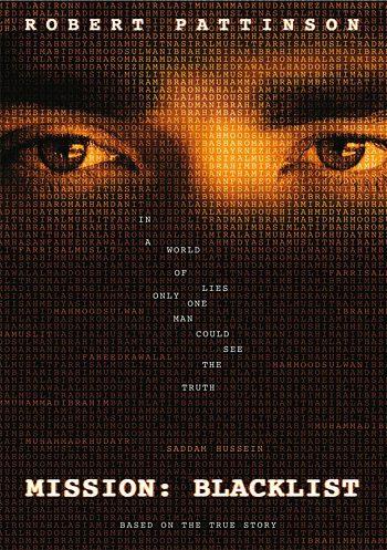 Poster de Mission: Blacklist con Robert Pattinson