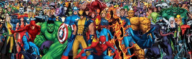 superhéroes de Marvel
