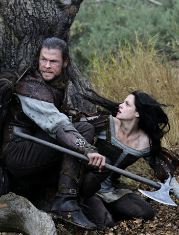 Blancanieves y la leyenda del cazador