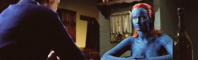Jennifer Lawrence como Mística en X-Men:Primera Generación