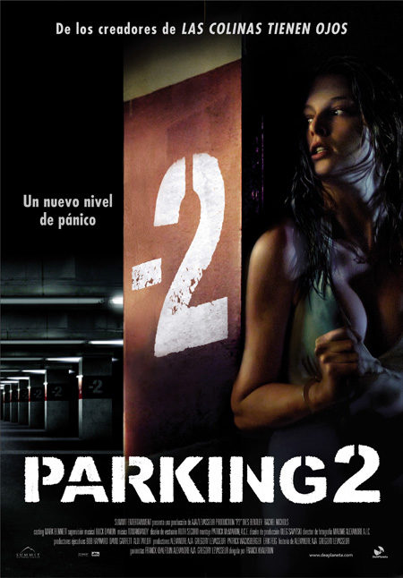 Cartel en castellano de 'Parking 2'