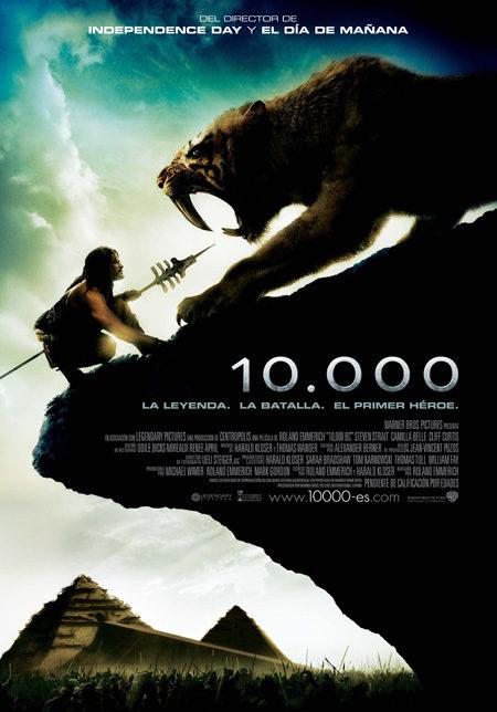 Cartel en castellano y nuevas imágenes de '10.000'