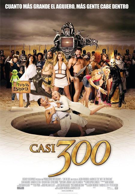 Cartel en castellano de 'Casi 300'