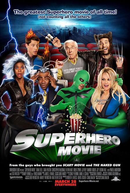 Póster de de 'Superhero movie'