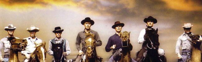 Cartel del clásico western de los años 60