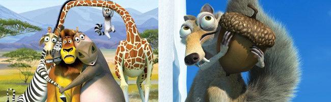 Madagascar y Ice Age