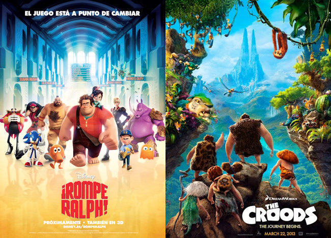 Rompe Ralph y The Croods