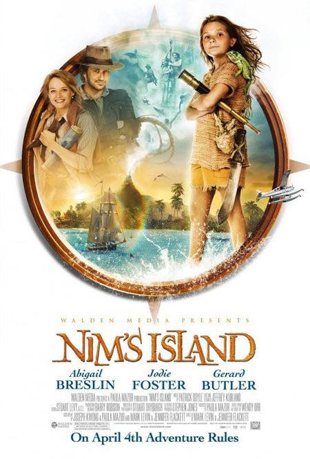 Nuevo póster de 'La isla de Nim'