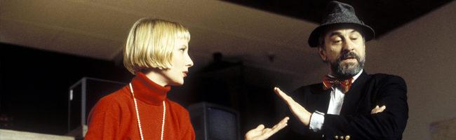 Anne Heche y Robert De Niro en 'La cortina de humo'