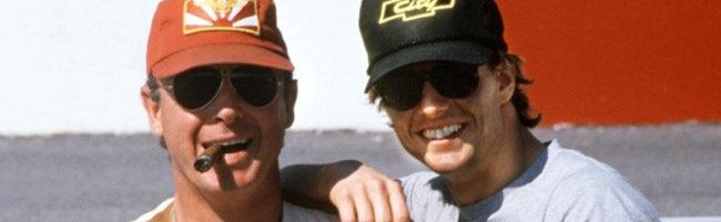 Tony Scott y Tom Cruise